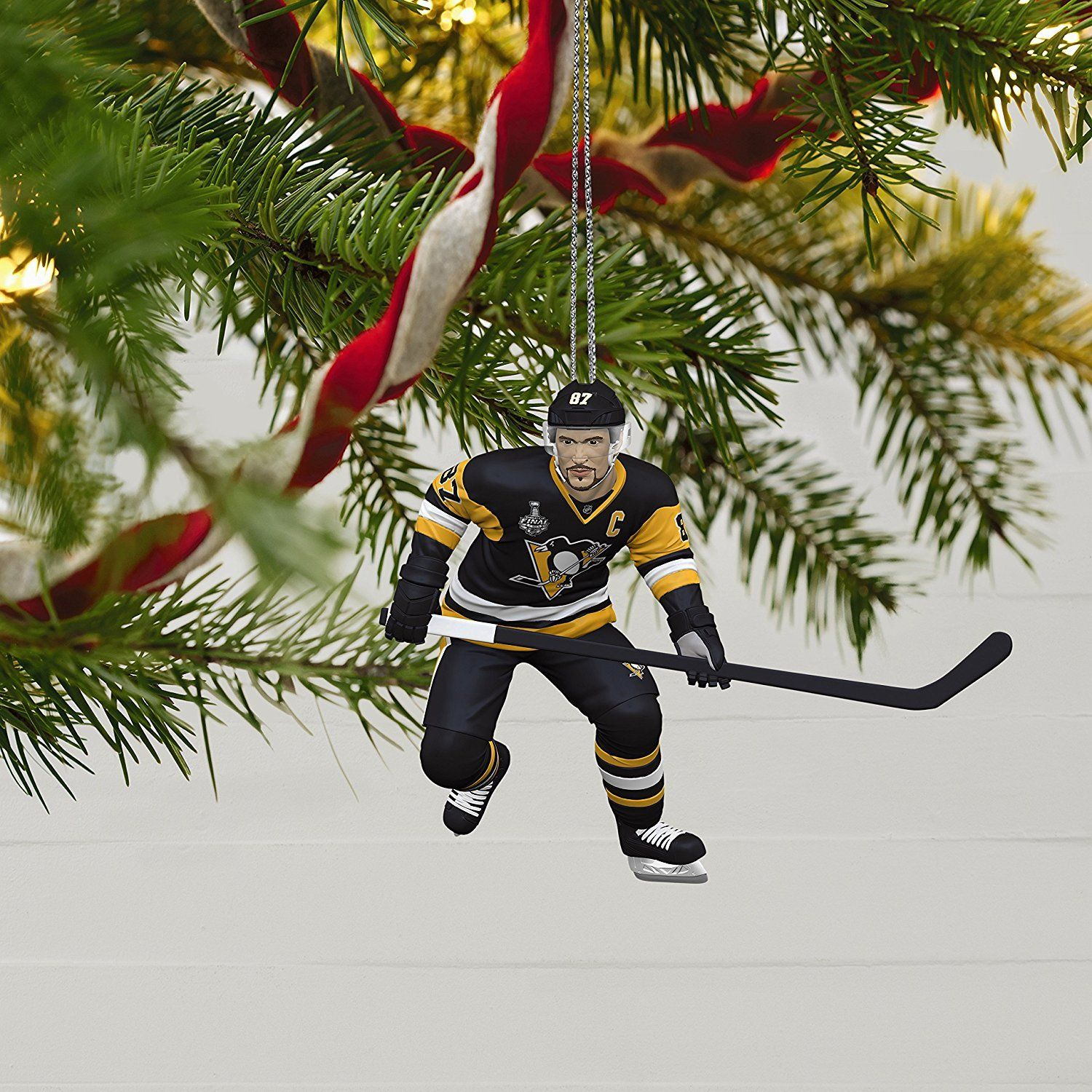 Sidney Crosby 2017 Pittsburgh Penguins Hallmark Ornament ...