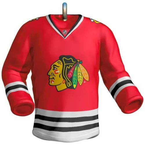 Chicago Blackhawks Jersey 2017 Hallmark NHL Ornament