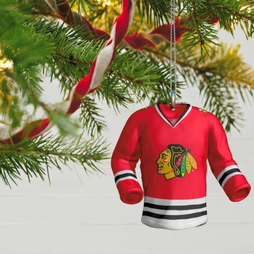 Chicago Blackhawks Jersey 2017 Hallmark NHL Ornament - Sons of Hockey