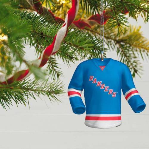 New York Rangers Jersey 2017 Hallmark NHL Ornament