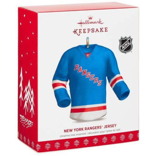 New York Rangers Jersey 2017 Hallmark NHL Ornament - Sons of Hockey