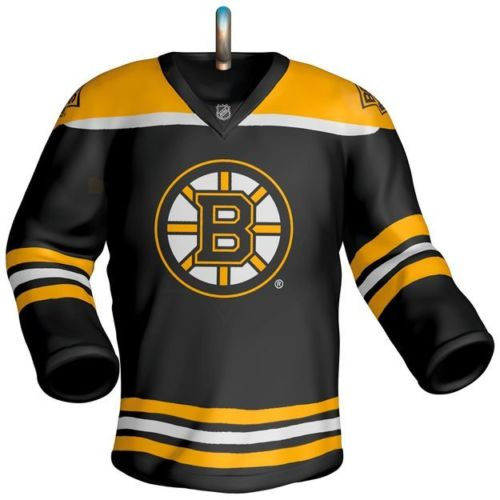 Boston Bruins Jersey 2017 Hallmark NHL Ornament