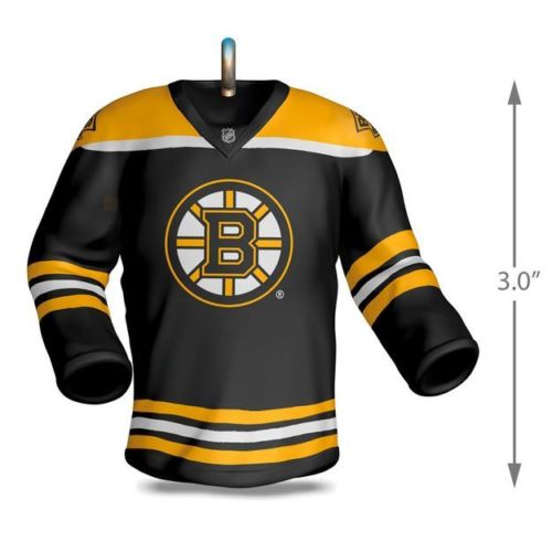 Boston Bruins Jersey 2017 Hallmark NHL Ornament - Sons of Hockey