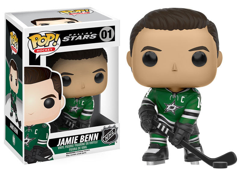 Funko Pop! NHL Jamie Benn #09 - Dallas Stars - Sons of Hockey