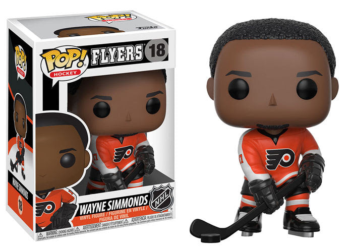 Wayne Simmonds - Funko Pop! NHL: Series 2 - #18 - Philadelphia Flyers - Sons of Hockey