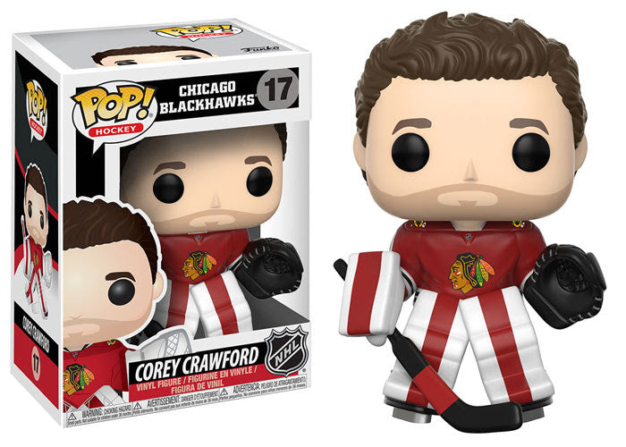 Corey Crawford - Funko Pop! NHL: Series 2 - #17 - Chicago Blackhawks - Sons of Hockey