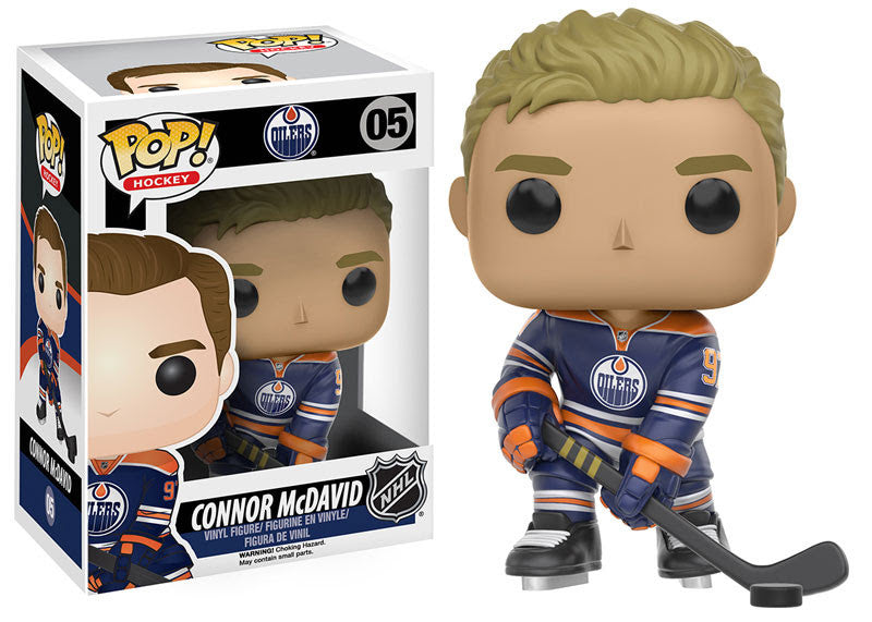Funko Pop! NHL Connor McDavid #05 - Edmonton Oilers - Sons of Hockey