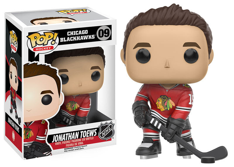 Funko Pop! NHL Jonathan Toews #09 - Chicago Blackhawks - Sons of Hockey