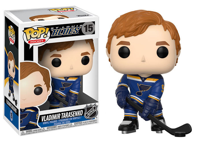Vladimir Tarasenko - Funko Pop! NHL: Series 2 - #15 - St. Louis Blues - Sons of Hockey