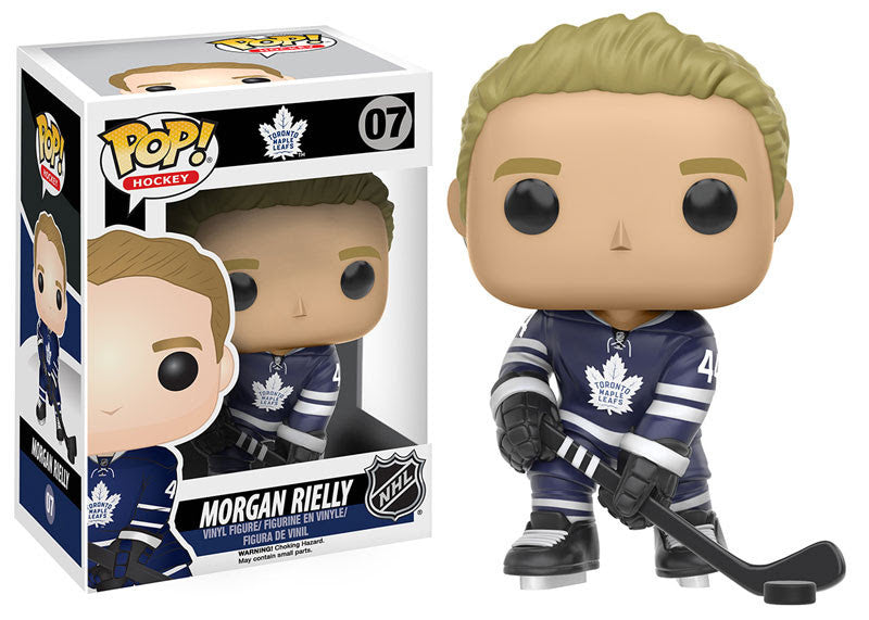 Funko Pop! NHL Morgan Rielly #07 - Toronto Maple Leafs - Sons of Hockey