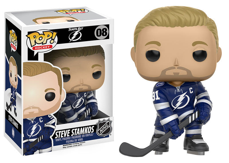 Funko Pop! NHL Steven Stamkos #08 - Tampa Bay Lightning - Sons of Hockey