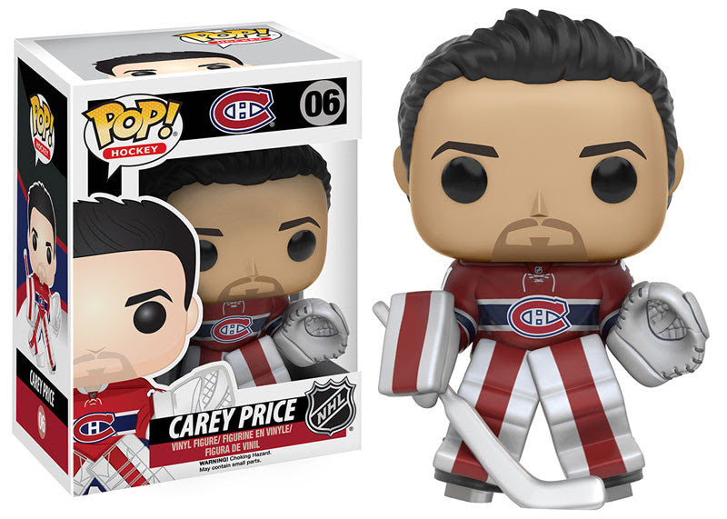 Funko Pop! NHL Carey Price #06 - Montreal Canadiens - Sons of Hockey