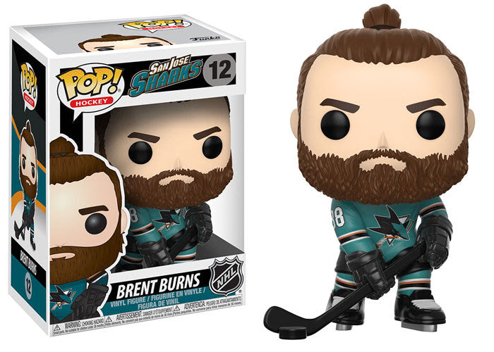 Brent Burns - Funko Pop! NHL: Series 2 - #12 - San Jose Sharks