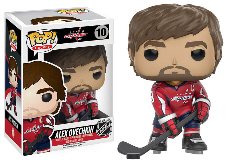 Funko Pop! NHL Alex Ovechkin #10 - Washington Capitals