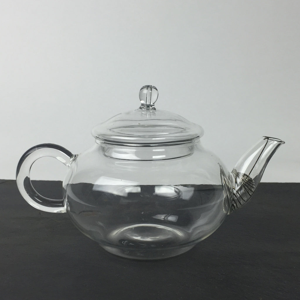 Glass Teapot with Wire Strainer - 250mL (8.8 oz)