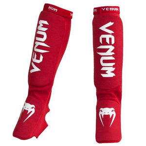.VENUM KONTACT SHINGUARDS RED
