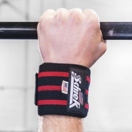 "Wrist wrap 24"" Inch  Red/Black"