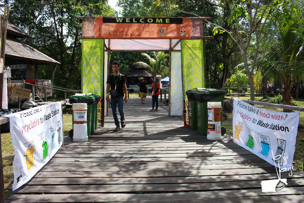 Green Initiatives at the Rainforest World Music Festival 2019