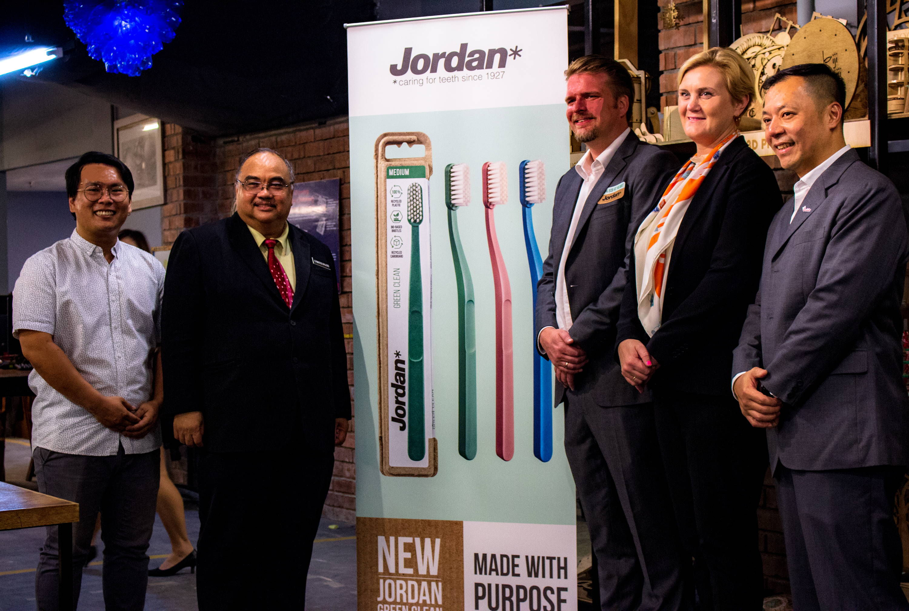 Jordan Green Clean Launch