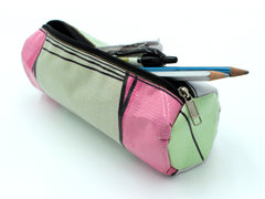 Upcycled Pencil Cae Bag by Biji-Biji Initiative (Banner Bag)