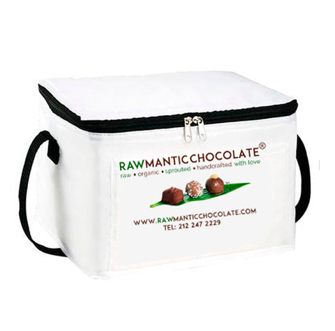 Rawmantic Cooler Bag in White