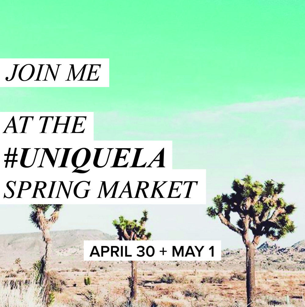 We will be @ Unique LA on April 30th & May 1st!!!!