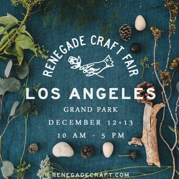 We will be @ Renegade Craft Fair on Dec. 12th & 13th!!!!