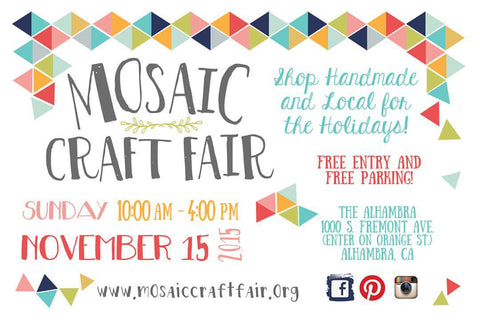 Mosaic Craft Fair