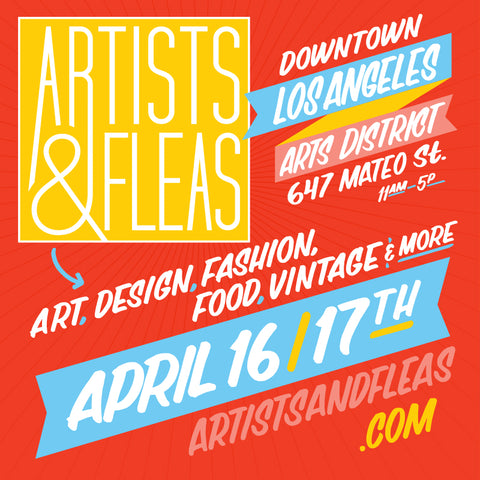 Artists and Fleas LA April