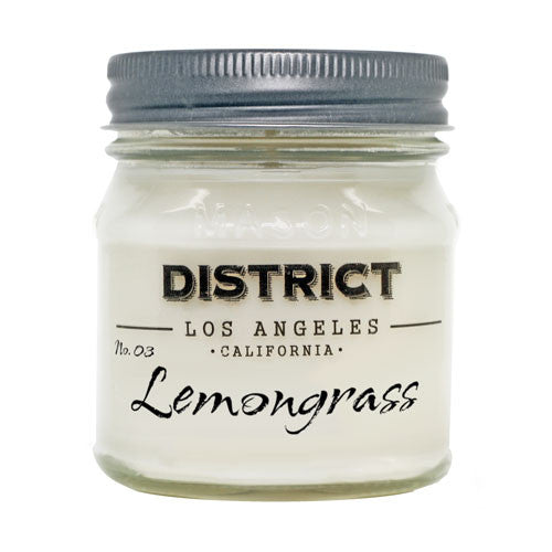 Lemongrass Soy Beeswax Candle