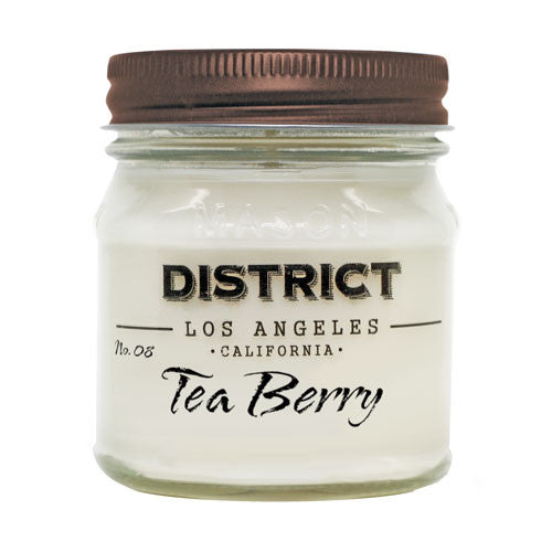Tea Berry Soy Beeswax Candle