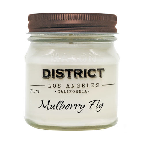 Mulberry Fig Soy Beeswax Candle