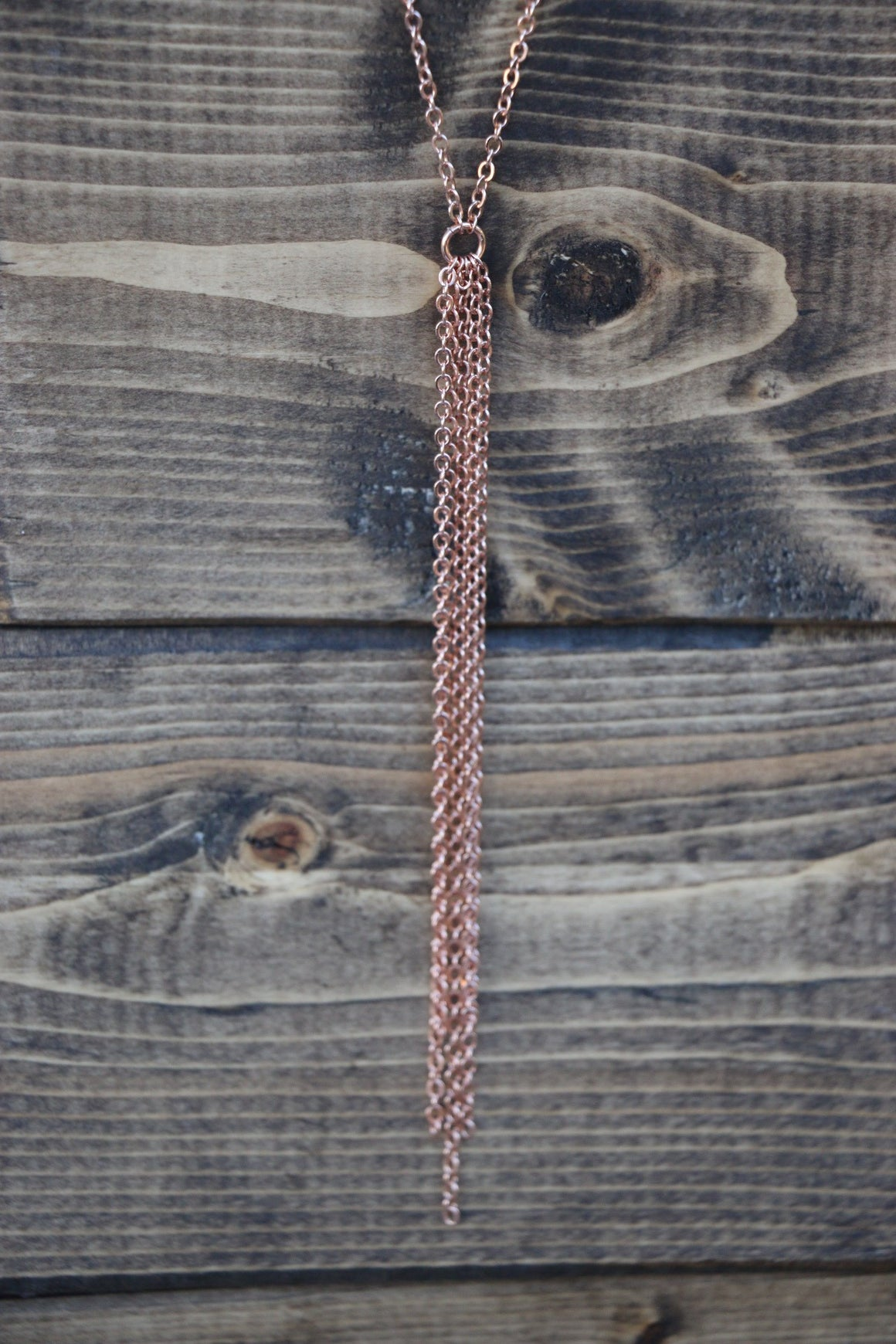 Dream Catcher Necklace - Rose Gold Filled