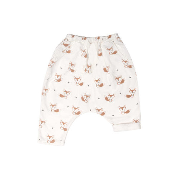 Terry Harem Pants - Fox