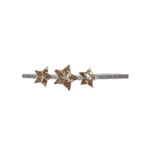 Shooting Star Headband - Gold