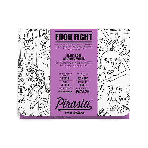 Really Cool Coloring Sheets I Food Fight!