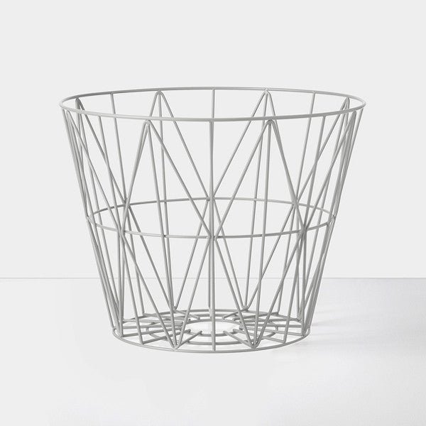 Wire Basket Small | Grey