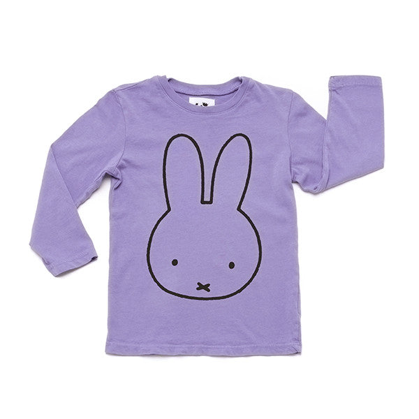 Miffy Graphic T-Shirt Long Sleeve | Lavender