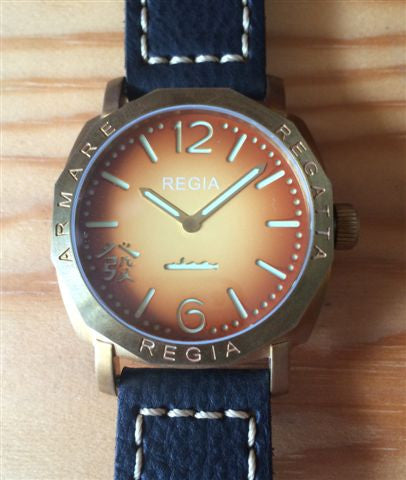 R105 /Sunburst - Number dial (engraved bezel) (free shipping)