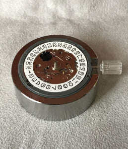 Purchase Rigid Stainless Steel metal modern Seiko movement holder (free shipping)
