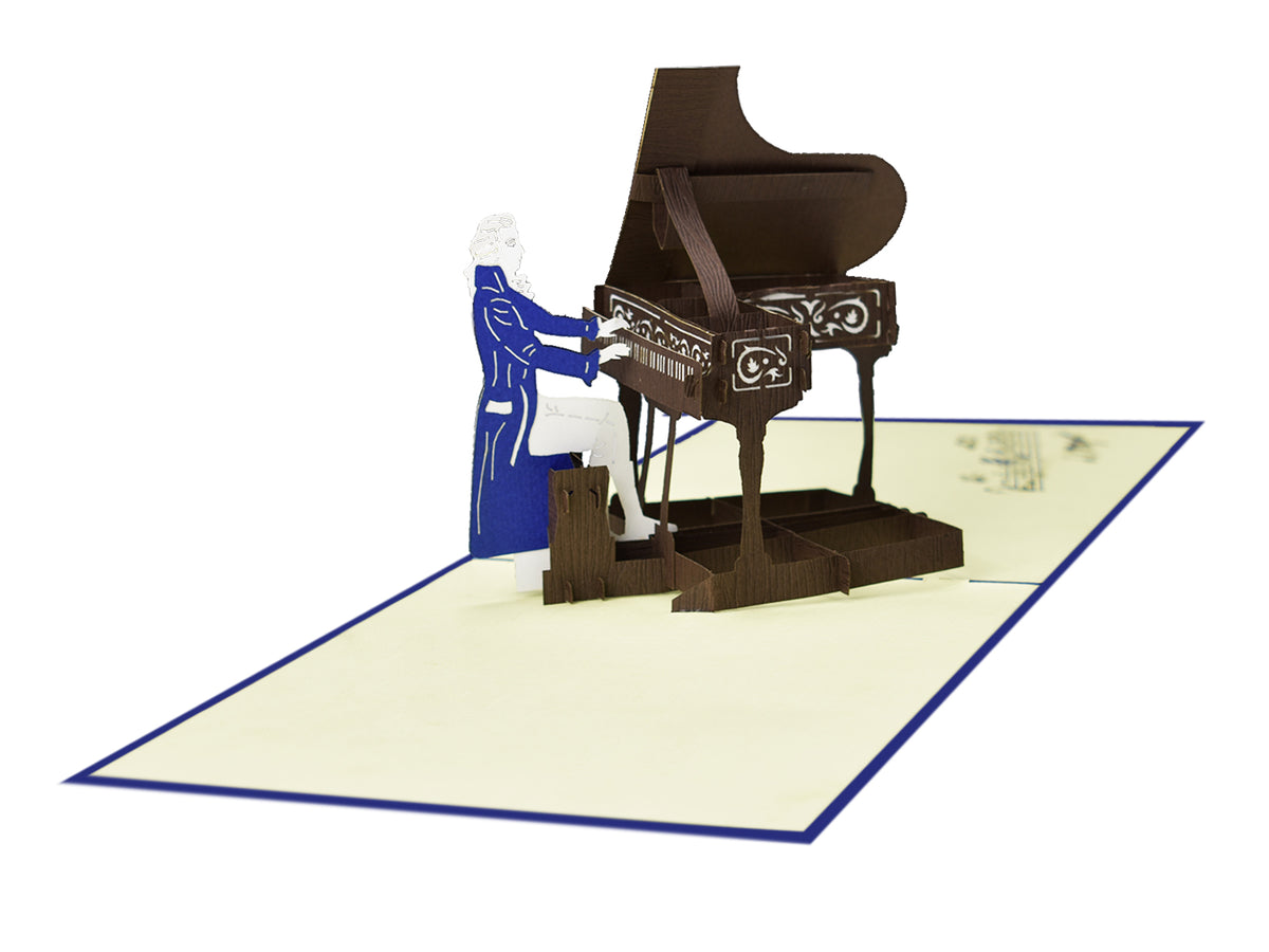 Piano 3D Creative Pop Up Card