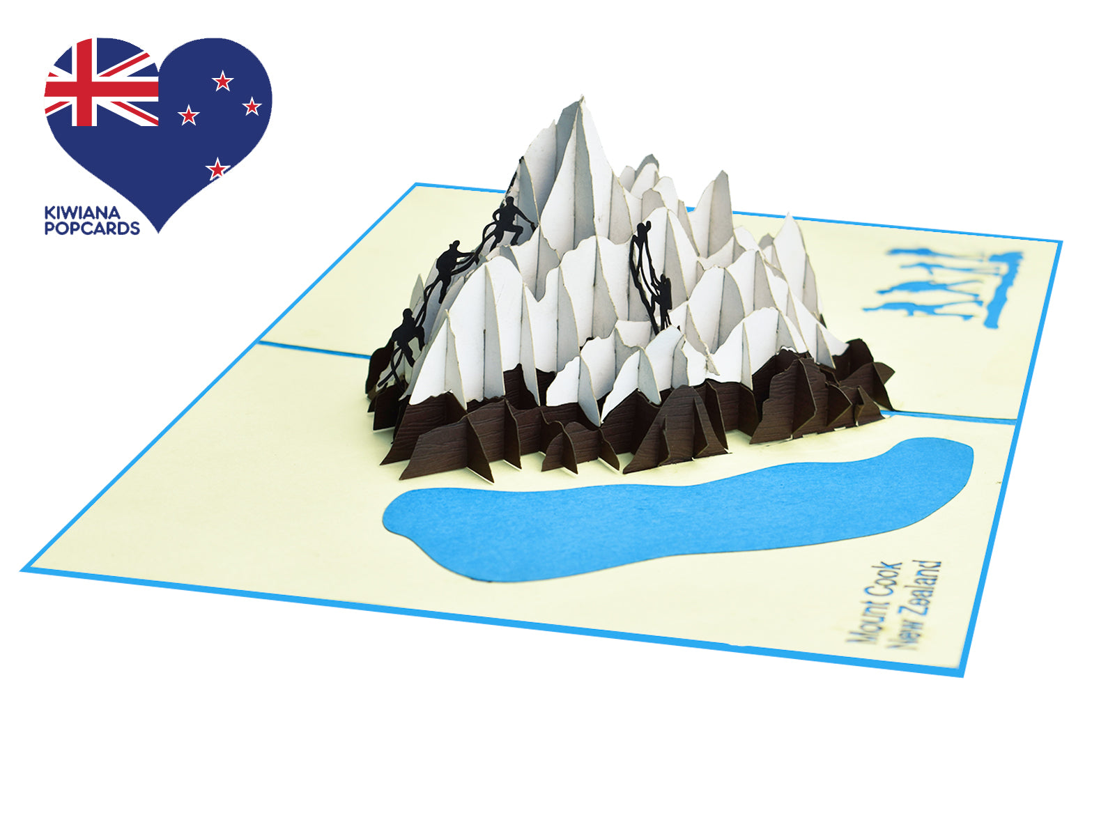 Mount Cook New Zealand 3D Creative Pop Up Card