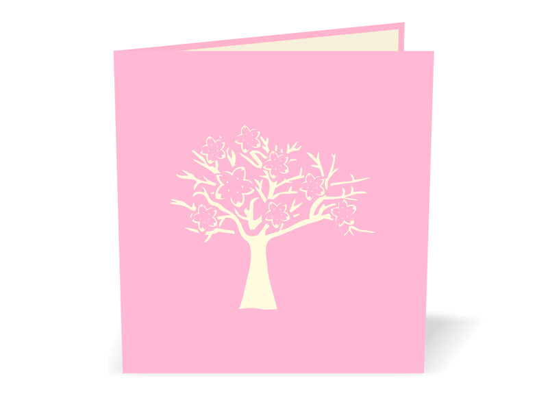 Cherry Blossom 3D Creative Pop Up Card