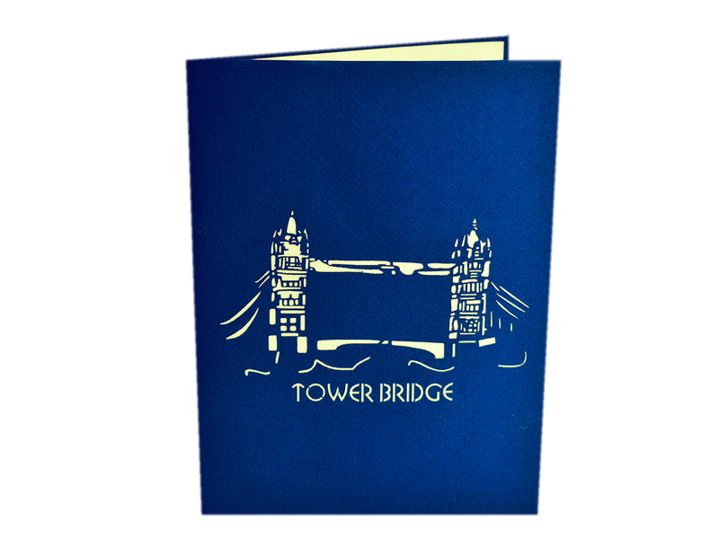 Tower Bridge 3D Pop Up Card
