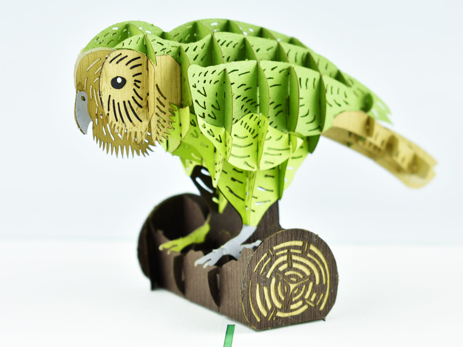 New Zealand Kakapo 3D Creative Popcard