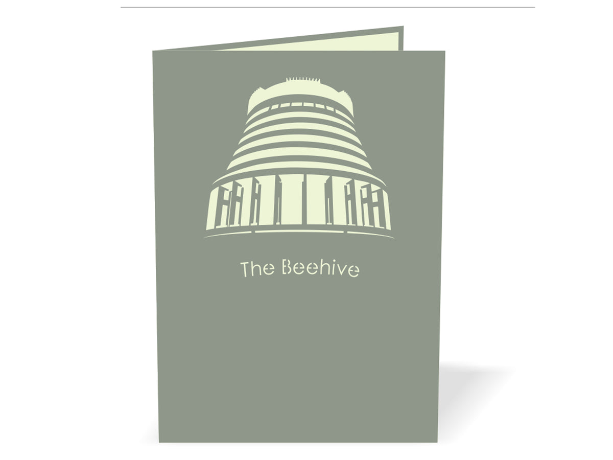 The Beehive (Wellington Parliament Building) Popcard