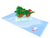 Kiwi Tree Time 3D Creative Pop Up Card