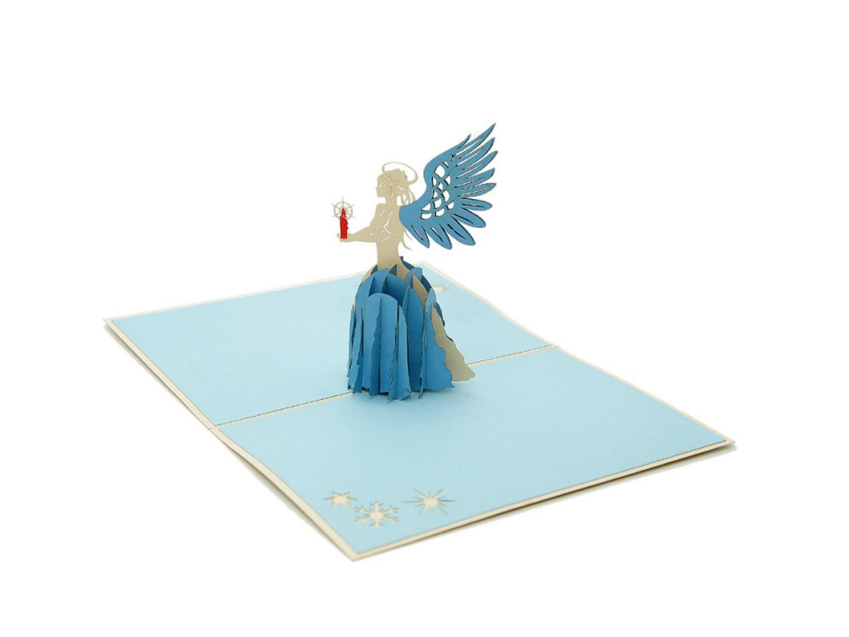 Christmas Angel 3D Popcards