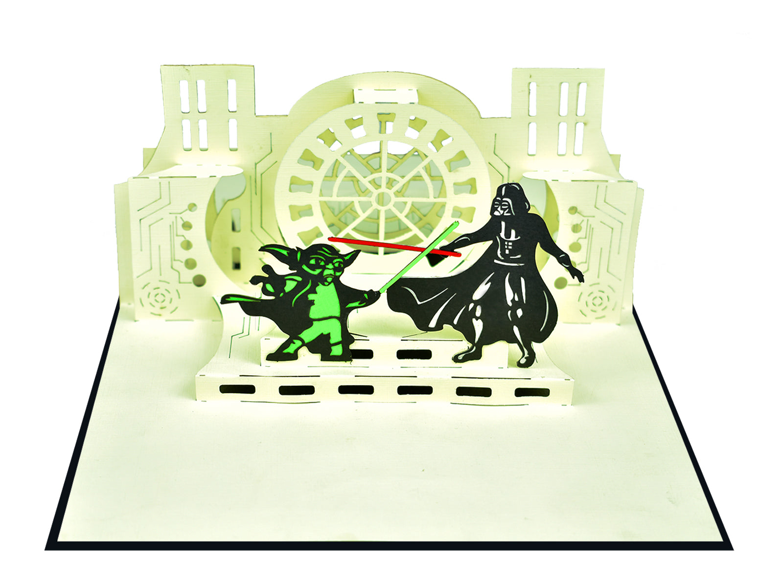 Star Wars 3D Pop Up Card