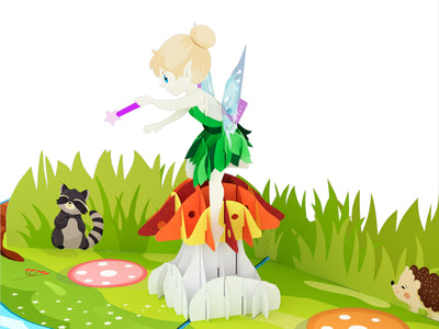 Fairy 3D Creative Pop Up Card